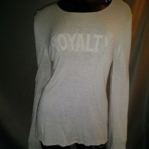 SMASHING GRANDPA ROCK COUTURE ROYALTY Sweater